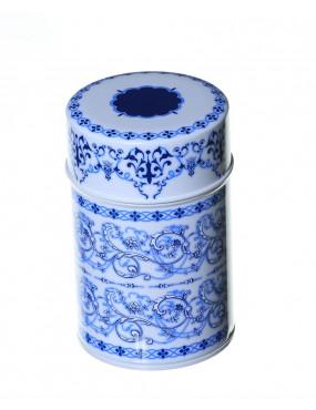Dóza modrý ornament 001373...